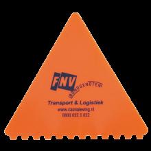 IJskrabber | Driehoekig | Kunststof | 72817526 Oranje