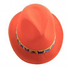 Ruban en quadrichromie pour chapeaux de paille
