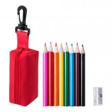 Mal-Set | 8 Stifte + Etui + Spitzer