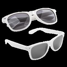 Zonnebrillen bedrukken | Full colour op het pootje | max176 Wit