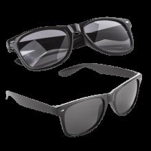 Zonnebrillen bedrukken | Full colour op het pootje | max176 Zwart
