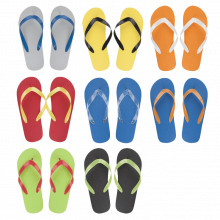 Strand slippers | Mix & match kleuren
