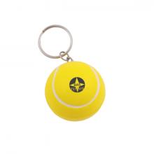 Anti-stress tennisbal | Met sleutelhanger