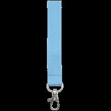 Keycord | 15 mm | Zelf samenstellen | 87315mm1 Lichtblauw
