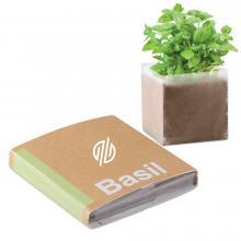 Zak met zaadjes   Basilicum   Gepersonaliseerde verpakking