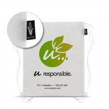 Wit eco rugzakje | Full colour | Plantaardige materialen (PLA)
