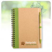 Notitieboekje | A6 | Eco | Met balpen