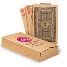 Speelkaarten gerecycled papier   Bedrukt doosje   Full colour