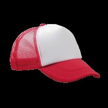 Trucker cap | Verstelbaar | Full colour | 8798594FC Rood