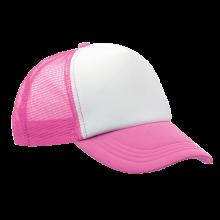 Trucker cap | Verstelbaar | Full colour | 8798594FC Roze