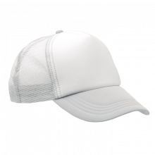 Trucker cap | Verstelbaar | Full colour | 8798594FC Wit