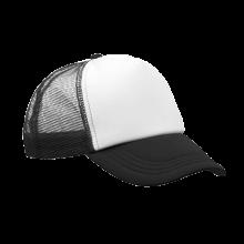 Trucker cap | Verstelbaar | Full colour | 8798594FC Zwart