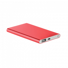 Powerbank | Slim | 4000 mAh | 8798735 Rood