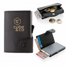Kaarthouder | Met munt vakje | C-secure