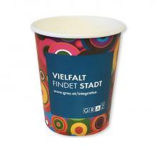 Kartonnen koffiebeker | Full colour | 300 ml