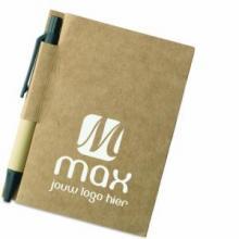Notitieboekje |11x8,5cm | Eco met Pen