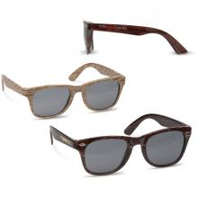Sonnenbrille bedrucken Holzoptik