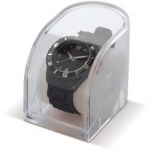 Horloge | Silliconen | Transparante geschenkverpakking