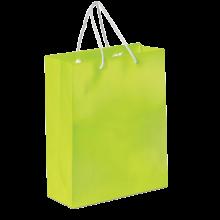 Glossy papieren tas | A4 | Premium kwaliteit | 9191512 Lichtgroen