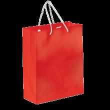 Glossy papieren tas | A4 | Premium kwaliteit | 9191512 Rood