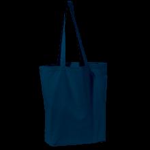 Gekleurde canvas tas | Tot 4 kleuren bedrukking | Zware kwaliteit | 9191713 Donkerblauw