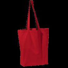Gekleurde canvas tas | Tot 4 kleuren bedrukking | Zware kwaliteit | 9191713 Rood