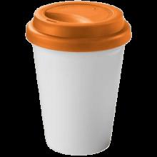 Coffee-to-go beker | Dubbelwandig | 330 ml | 92100354 Oranje
