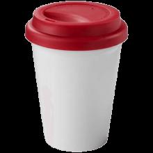 Coffee-to-go beker | Dubbelwandig | 330 ml | 92100354 Rood