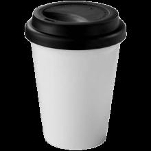Coffee-to-go beker | Dubbelwandig | 330 ml | 92100354 Zwart