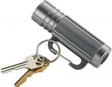 Porte clé | Lampe torche | mousqueton | 9 lampes à LED