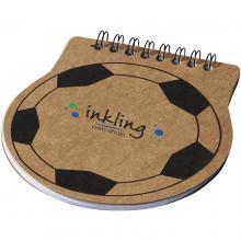 Notizbuch Score | Fußballform