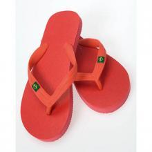 Slippers   Brasil   Maat 36-44   159343 Rood