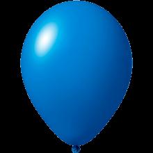 Ballonnen bedrukken | Ø 27 cm | Goedkoop | 9475851 Midden blauw