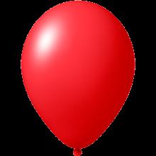 Ballonnen bedrukken | Ø 27 cm | Goedkoop | 9475851 Rood
