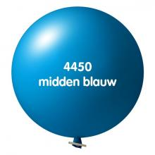 Reuzenballon | Ø 80 cm | Snel | 940014 Midden blauw