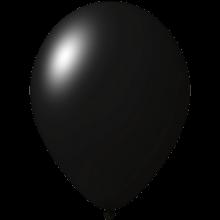 Ballonnen bedrukken   Ø 33 cm   Goedkoop   9485951 Zwart