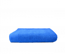 Badlaken borduren | 450 grams | 140 x 70 cm | 9614070 Koningsblauw
