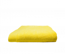 Badlaken borduren | 450 grams | 140 x 70 cm | 9614070 Geel