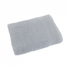 Badlaken borduren | 450 grams | 140 x 70 cm | 9614070 Licht grijs