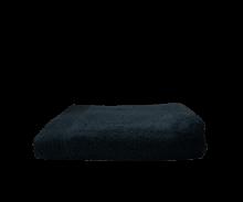 Badlaken borduren | 450 grams | 140 x 70 cm | 9614070 Zwart