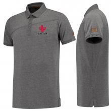 Polo's bedrukken | Heren | Katoen/elastaan | Batch op schouder | Premium | Tricorp