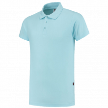Polo's bedrukken | Heren | Katoen/polyester | Slim-fit | Premium | Tricorp | 97PPF180 Lichtblauw