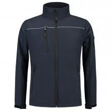 Soft Shell jack | Reflectiepiping | Tricorp Workwear | 97TSJ2000 Navy