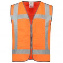 Veiligheidsvest | Rits | Reflectie EN471 | Tricorp Workwear | 97453019 Fluor oranje