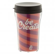 Coffee-to-go mok | Plastic | 250 ml | Full colour