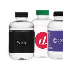 Waterflesje | 250 ml | Platte dop