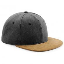Cap | Snapback | Suede  | max033 Zwart
