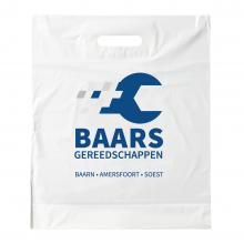 Plastic tas | Wit | Middel A4