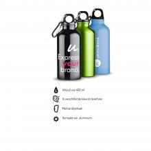 Drinkfles | Aluminium | Karabijnhaak | 400 ml | 92100002
