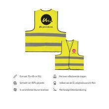 Veiligheidsvest    Full colour of zwart   XL   Snel   Op = op   max8026